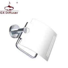 纸巾架卷纸架 304不锈钢镜光浴室纸巾盒 厨卫五金配件一件代发OEM