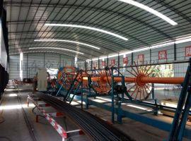 钻孔桩钢筋笼成型机  可定制钢筋笼滚焊机