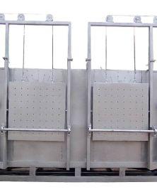 精铸设备模壳培烧双炉室燃油燃气炉(YD-2)