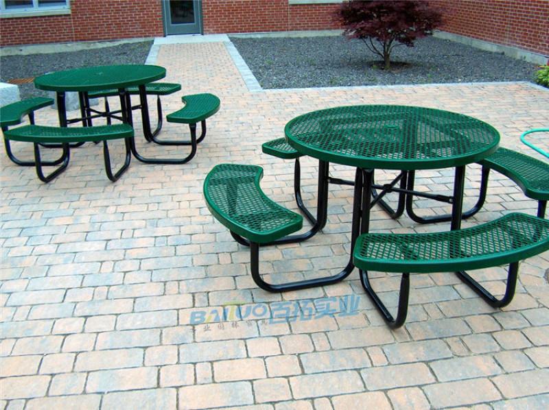 铁艺户外桌椅组合庭院阳台小茶几花园休闲桌椅三件套