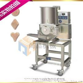 鸡排裹面包糠机器 鸡排成型机器 鸡排生产线
