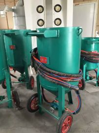 安兴600型无尘水砂混合喷砂机,气缸式气动砂阀