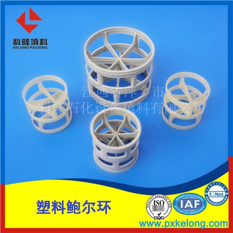 高性能聚丙烯PPH鲍尔环米字型PPH鲍尔环填料厂家