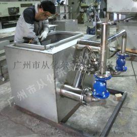 商用不锈钢污水提升器 一体化污水提升设备