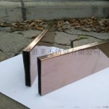不鏽鋼方管10*10*0.5裝飾玫瑰金