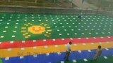 廣西誰家籃球場拼裝地板廣西懸浮地板安裝質量好