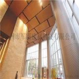 氟碳鋁單板幕牆,弧形鋁方通,衝孔鋁單板