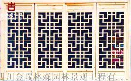 成都仿古門窗廠家,實木花格雕花門窗定做廠家