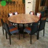 西餐廳大理石餐桌 歐式茶餐廳桌椅定做廠家