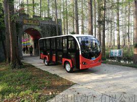 贵州利凯士得14座电动观光车景区用