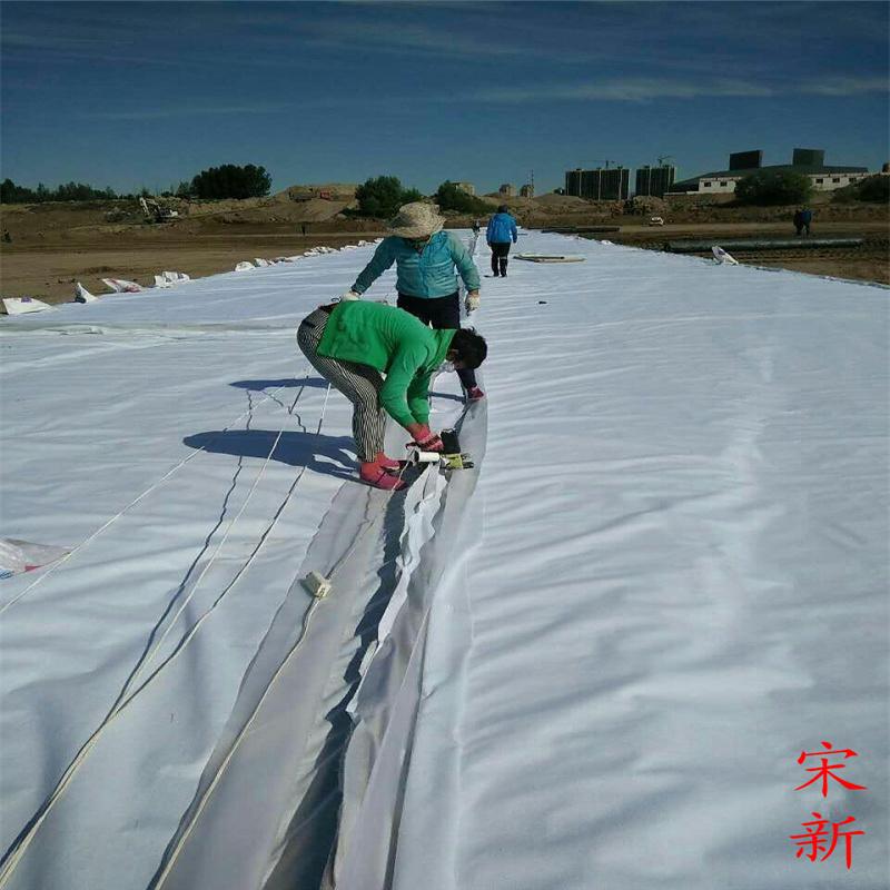 200克養護土工布 高速路面保溼養生
