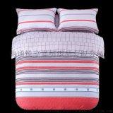 床上四件套純棉 全棉斜纹床品套件 简约被套床单被罩