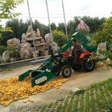 百色大馬力拖拉機帶玉米脫粒機