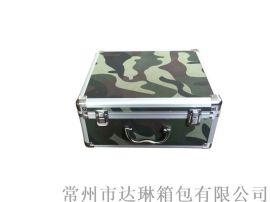 迷彩铝合金箱手提便携箱