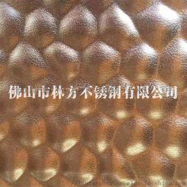 304不锈钢压花板 铜钱纹压花装饰板台面板加工