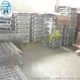 Q235镀锌仓储笼、车间物流周转箱、可折叠仓储笼
