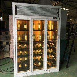 厂家直销 不锈钢  柜 不锈钢恒温酒柜