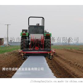 国内研发的,旋耕起垄施肥覆膜机,大田用宽幅起垄机