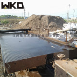 直销选钢渣摇床 平炉渣分离设备 环保型6s玻璃钢摇床