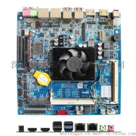 Maxtang大唐DT5200-A主板i5 5200U工控主板双HDMI LVDS机器人主板录播MITX电脑主板