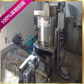 蚕豆油炸锅 花生米油炸机 腰果油炸设备