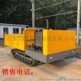 全地形履带运输车价格 拉砖用工程履带运输车图片