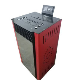 家用采暖炉商用80智能型热风炉 济南颗粒取暖炉