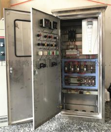 厂家直销ZLK-BP-11KW一拖二不锈钢变频恒压防雨水泵控制箱控制柜