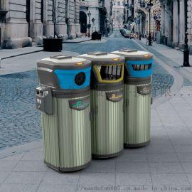 环卫分类垃圾桶 镀锌板180升果皮箱