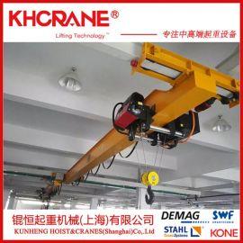 1吨单梁桥式起重机2吨欧式起重机,悬挂单梁起重机行车电动葫芦