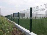 【桃形柱护栏网】三角折弯防护网 工厂围墙护栏网180x3000mm