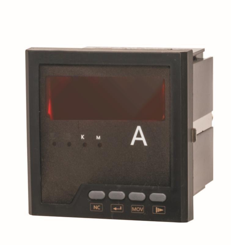 网络智能型电流表单相测量电流仪表嵌入式电流表55V5A1A厂家直销
