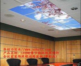 LED超薄节能环保照明灯(HCL-6060-28W54K)