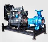 200KW柴油发电机组水利工程消防泵四轮两轮拖车水泵机组全国联保