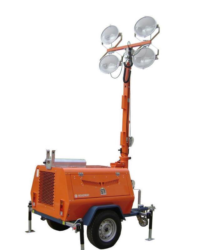 拖车式照明车,移动灯塔,工矿灯具RWZM42C路得威