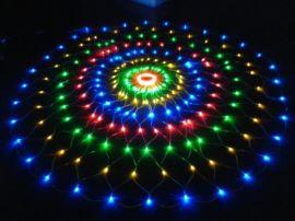 LED圆形网灯,树木装饰节日灯,街道亮化装饰灯