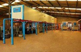 浙江喷涂设备厂家专业定制各种规格粉末喷涂线高温隧道炉流水线