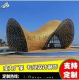 不鏽鋼大型雕塑佛山廠家金旭豐玻璃鋼精品雕像定做