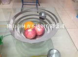 不鏽鋼果盤 螺旋狀果盤 KTV創意果盤 會所不鏽鋼果盤定做
