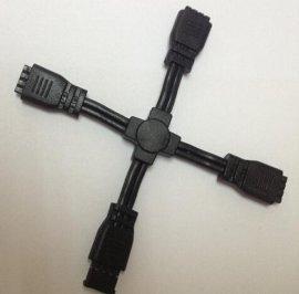 专业制作**4PIN连接器插头模具