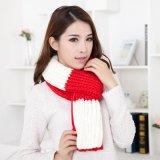 新款粗毛线针织围巾【龙爱针织】