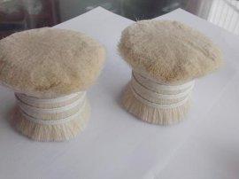 化妆刷用扎把白色山羊毛,55mm出口质量双齐羊毛