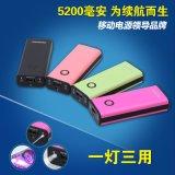 摩宏移動電源 創意移動電源個性彩色充電寶5200mAh正品 momoho廠家直銷