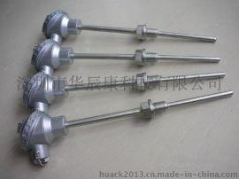 PT100温度传感器、高精度热电阻、热电偶、螺纹铠装温度传感器