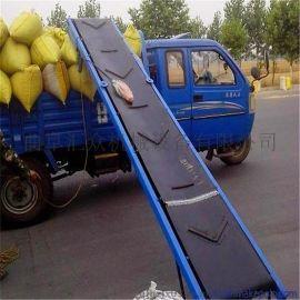 圆管材质移动输送机 货物带式输送机图片