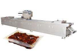 厂家直销全自动拉伸膜包装机枣子软膜真空包装