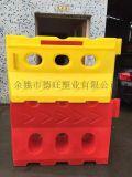 三孔滚塑水马厂家报价、滚塑水马批发价格1.5X0.8米规格