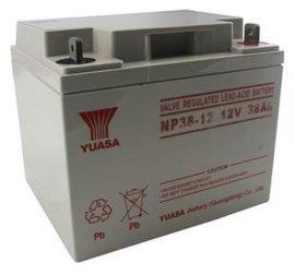 汤浅NP38-12 12V38AH UPS专用铅酸蓄电池 APC电源指定蓄电池 汤浅12V免维护蓄电池
