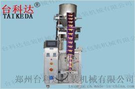 三角包膨化食品全自动包装机 TKD-160K台科达立式包装机