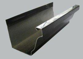成品檐槽方管 彩铝檐沟方形雨水管
